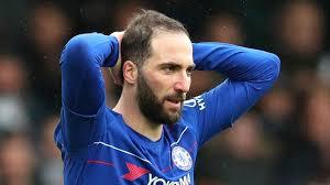 Higuain Tak Jadi Dipermanenkan Chelsea