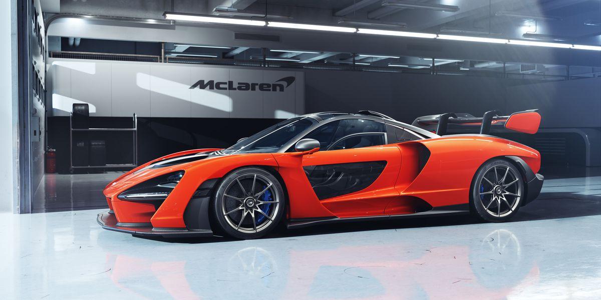 McLaren, Mobil Menyerupai Pesawat Luar Angkasa